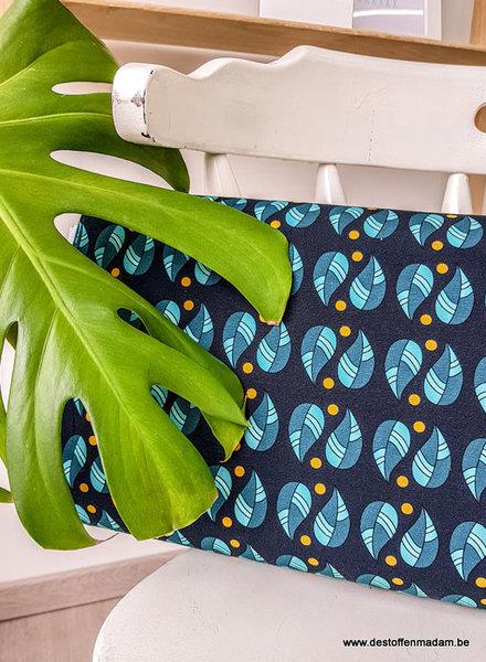 donkergroene blaadjes - tricot