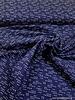 navy simple x's - cotton