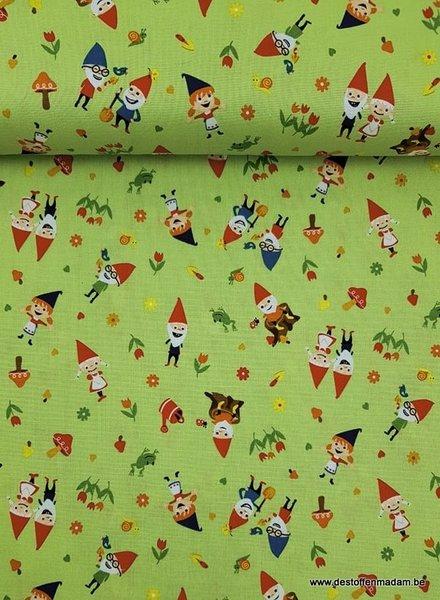 green gnome around - katoen