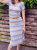 Een simpele rechte jurk