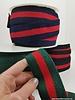 terry elastic - black/red