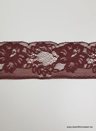stone non stretch lace - 60 mm