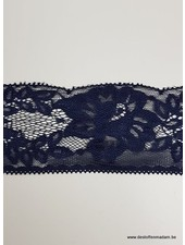 navy non stretch lace - 60 mm