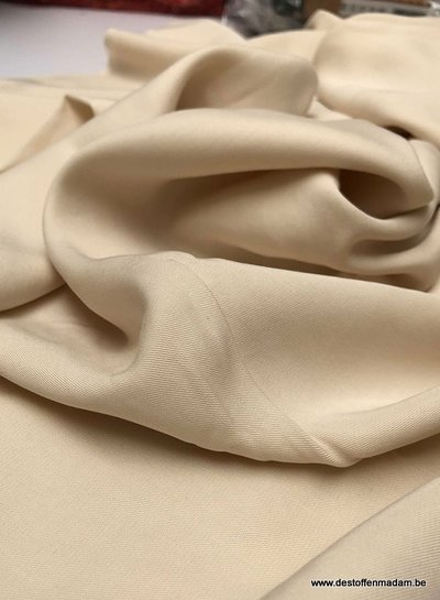 cream - tencel twill