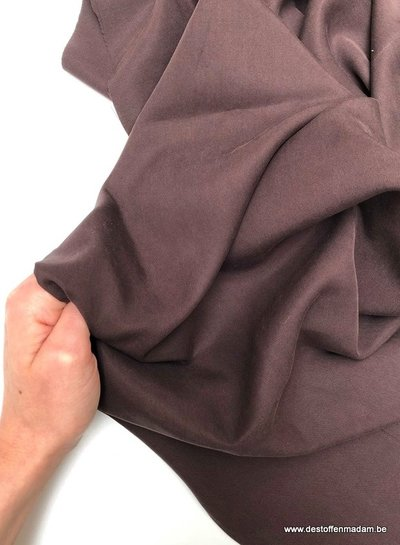 brown - tencel twill