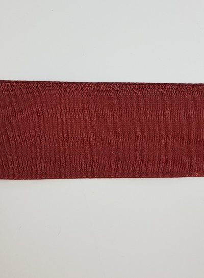 shiny marsala elastic - 40 mm