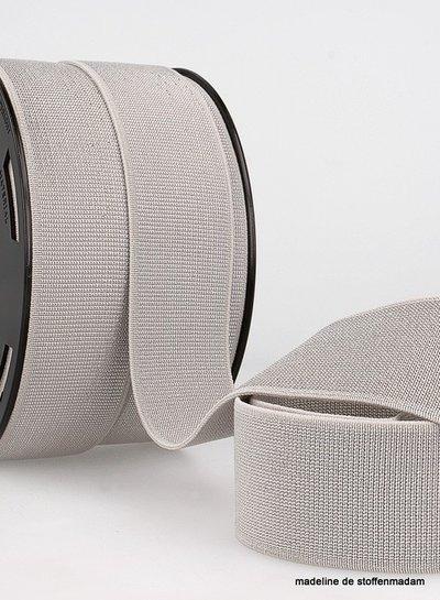 grey silver elastic 40 mm