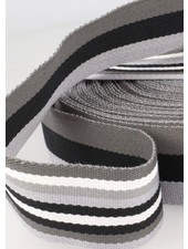 grey bag webbing - double sided