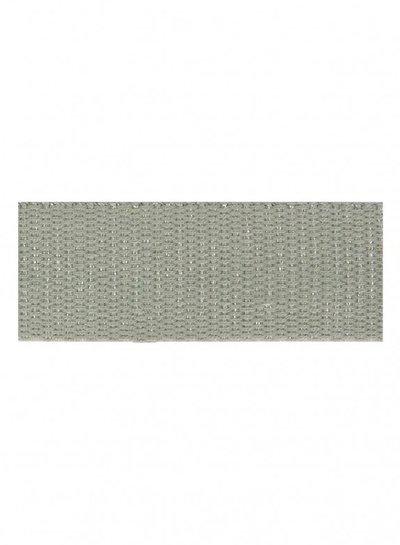 grijs zilver tassenband 30mm
