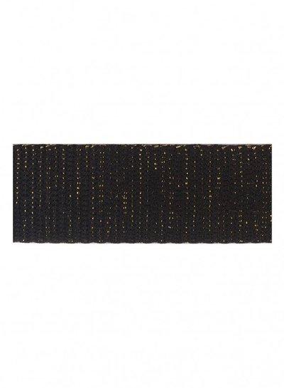 black gold bag webbing 30 mm