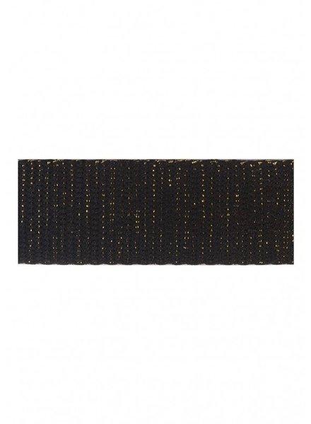 zwart goud tassenband 30mm