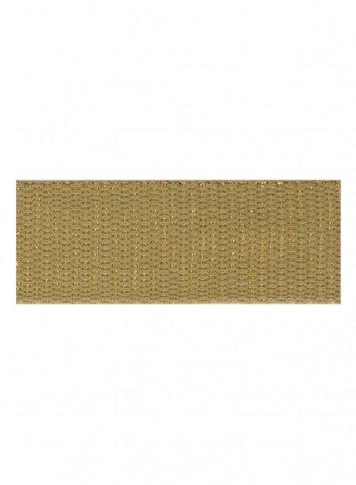 beige gold bag webbing 30 mm