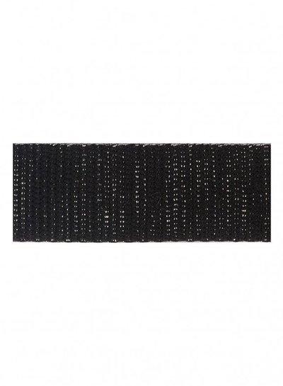 zwart zilver tassenband 30mm
