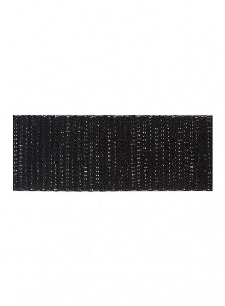 black silver bag webbing 30 mm