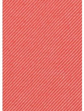 coral diagonals - very soft and strong canvas cotton