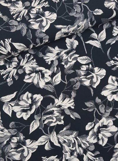 Charlie's flowers - viscose