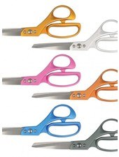 Super light metallic scissors