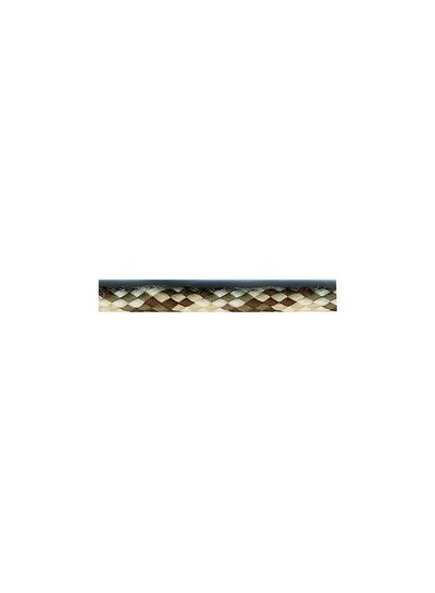 khaki spot knitted cord 6 mm