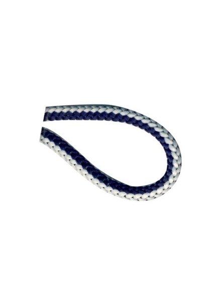 marineblauw wit touwtje 4,5 mm