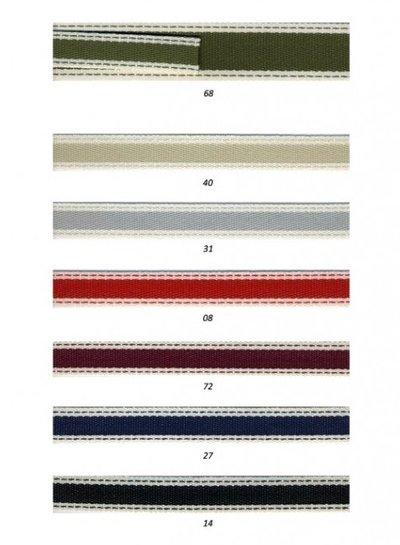 gestikt touwtje 15 mm of 25 mm breed