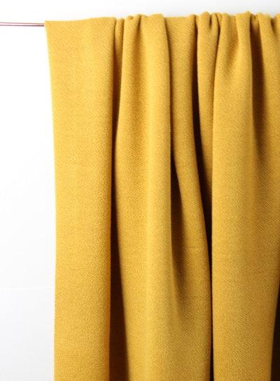 honey -  knitted viscose crepe
