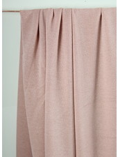 pink -  knitted viscose crepe