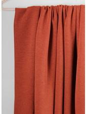 marsala -  knitted viscose crepe
