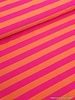 fluo pink/orange striped swimsuit fabric