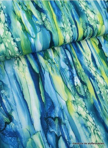 green blue swimsuit fabric