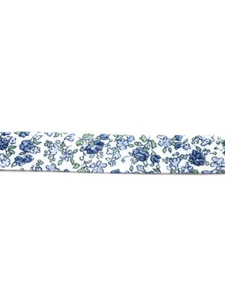 Liberty look - blue green - biais binding