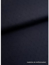 blue marine knitted fabric
