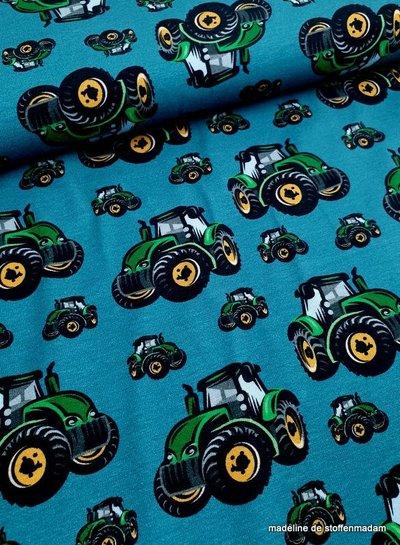 tractors knit petrol