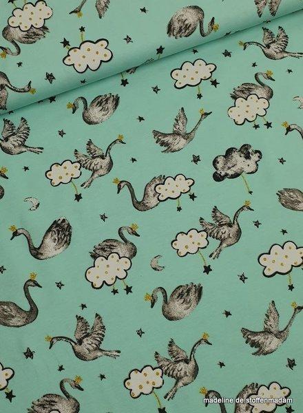 beautiful swan knit