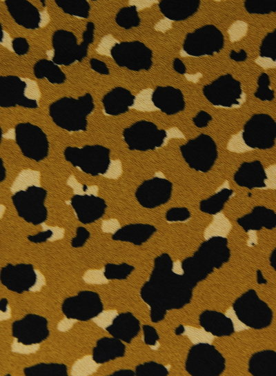 ocre spots - moss crepe