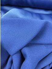 cobalt blue crepe envers satin - limited edition