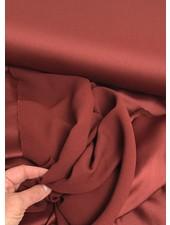 burgundy crepe envers satin - limited edition