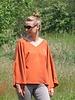 Vita jurk en blouse voor dames en tieners