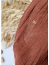 Atelier Brunette Sunset chestnut coton crepe