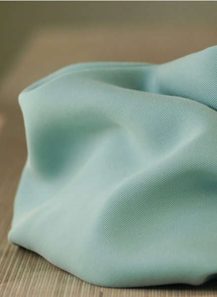 Meet milk mint - tencel sanded twill