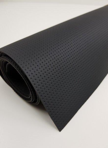 zwart stipjes - tassen leer