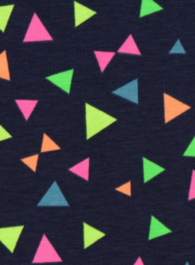 neon triangles - jersey