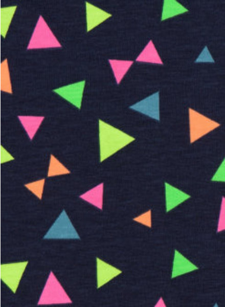 neon triangles - tricot