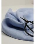 pastel blue - ramie