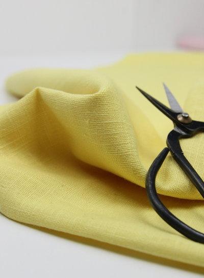 pastel yellow - ramie