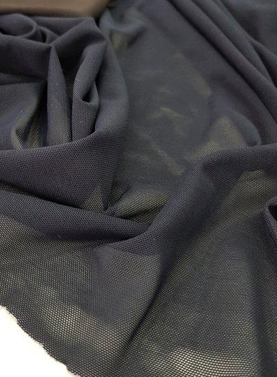 lingerie bathing suit mesh - black