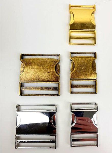 Metalen klikgesp - 25 mm of 40 mm