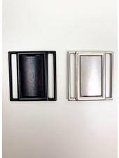 Metalen gesp voor elastiek - 40 mm