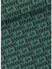 See You at Six Go Bananas  - French Terry - Silver Pine Green