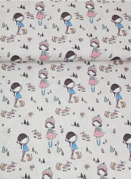 ecru outdoor girls - cotton