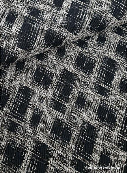 classic squares geweven jacquard